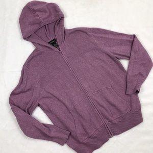 Lavender Lane Bryant Zip Up Hoodie, Size 18/20